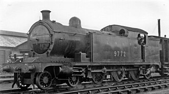 NER Class Y - No. 9772 at Hull Dairycoates Locomotive Depot 1947