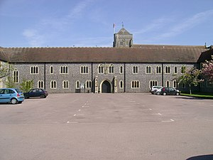 Hurstpierpoint College - Front entrance