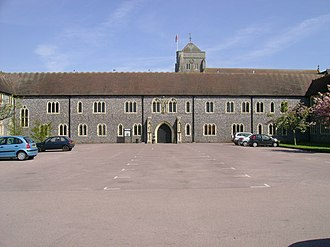 Hurstpierpoint College - Front entrance