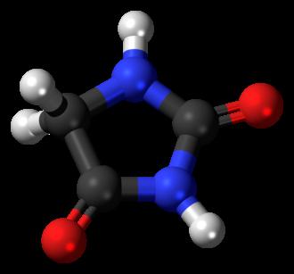Hydantoin - Image: Hydantoin 3D balls