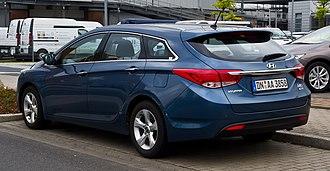 Hyundai i40 - Hyundai i40 wagon (Germany; pre facelift)