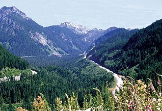 Snoqualmie Pass - I-90 through Snoqualmie Pass