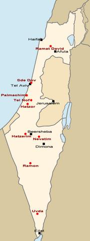 IAF Bases Map en