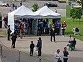 IIHF World Championship 2014 security zone near Minsk-Arena 1.jpg