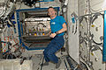 ISS-20 Frank De Winne in the Destiny lab.jpg