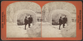 Ice arch and shadow face, Prospect Park, by Barker, George, 1844-1894.png