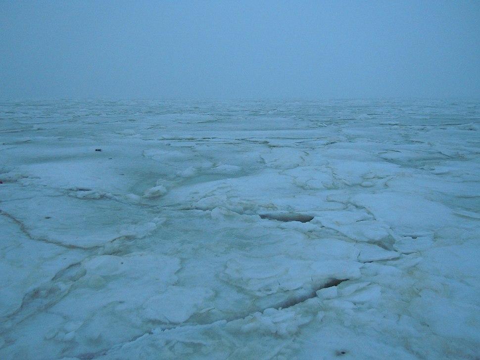 Ice on the Gulf of Odessa