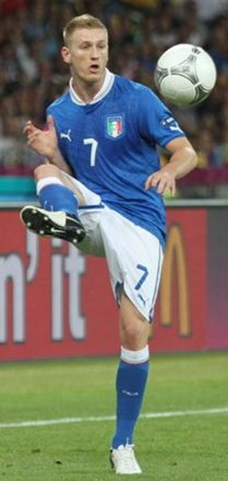 Ignazio Abate - Abate with Italy in 2012