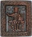 Ikona Hrist na prestolu, 12. vek, Dombo, Rakovac.jpg