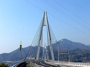 Ikuchi bashi Bridge (140... 生口橋 - Wikipedia 生口橋