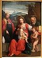 Il garofalo, sacra famiglia con san giovannino e un santo vescovo.JPG