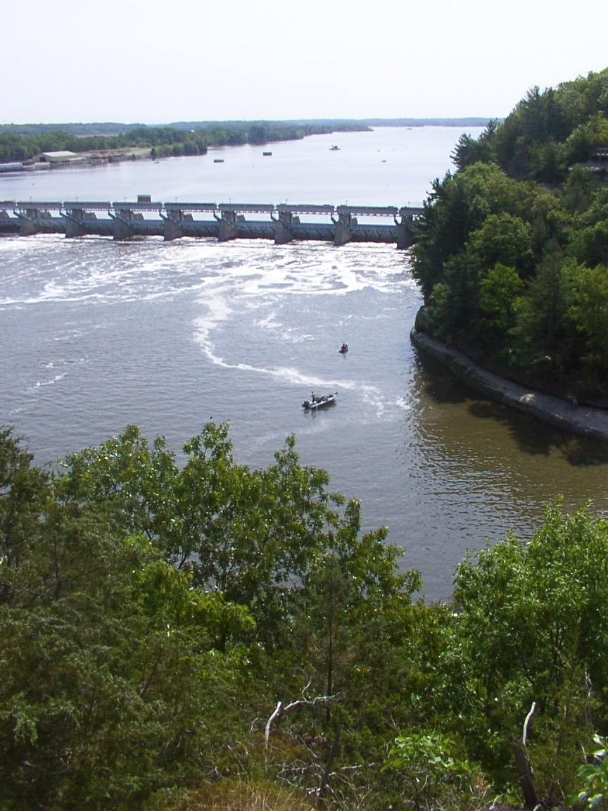 Illinois River, seen from Starved Rock