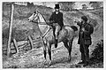 Illust by Edgar Giberne for Riding Recollections by George John Whyte-Melville-Asking the way.jpg