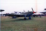 Ilyushin Il-10M Sturmovik ADDITIONAL INFORMATION- In 1951, due to experience acquired during the Korean War, the Soviet Air Force decided that propeller ground attack aircraft might still be useful, (17770825503).jpg