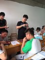 In a extra-curricular tuition class Tieling High School Class 11 Grade 2018 11.jpg