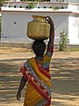 India - Sights & Culture - 32 - woman fetching water (2458024353).jpg