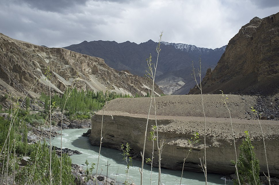 Indus river near Leh