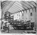 Industria - Máquinas de la imprenta de El Imparcial, en La Ilustración de Madrid.jpg