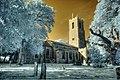 Infrared St Michael's church Barton Turf Norfolk (2930913473).jpg