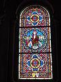 Ingrandes-sur-Vienne (Vienne) église, vitrail Résurrection du Christ.JPG