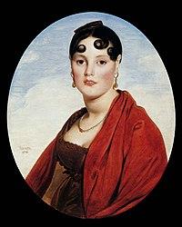 Jean-Auguste-Dominique Ingres: La Belle Zélie