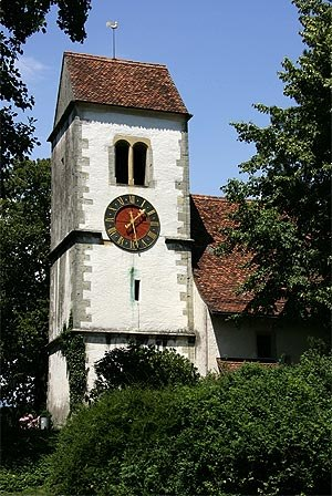 Ins, Switzerland - Swiss Reformed Church in Ins