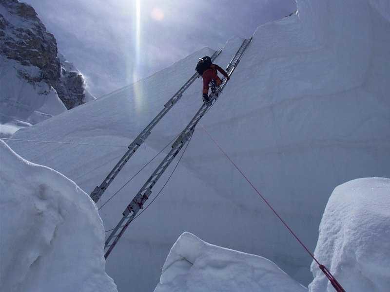Inside Khumbu-Icefall