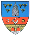 Coat of arms of Județul Severin