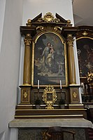 Interior of the Church of the Finding of the True Cross (Brno) 09.jpg