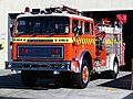 International fire engine, New Zealand Fire Service, Mosgiel Station.JPG