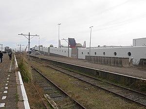 Schiedam–Hoek van Holland railway - Image: Internationale sporen Hoek van Holland 26 Maart 2017