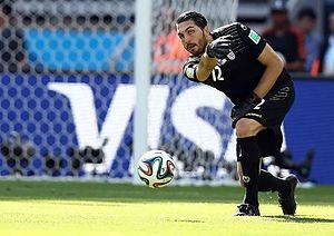 Alireza Haghighi - Haghighi starting match against Argentina national football team