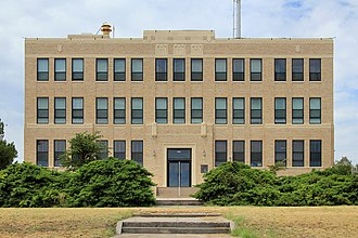 Irion County, Texas - Image: Irion county courthouse 2014