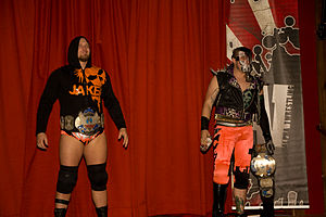 The Irish Airborne - Irish Airborne with the A1 Tag Team Championships