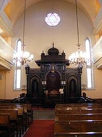 Istanbul Ashkenazi Sinagogue Interior.JPG