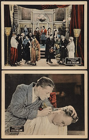 It Is the Law - Lobby cards