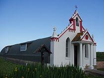 Italian Chapel - Lamb Holm - Orkney - kingsley - 29-JUN-09.JPG
