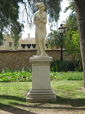 Carrara marble - Adelaide's first street statue, a copy of Venere di Canova, was carved from Carrara marble.