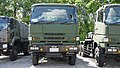 JASDF 7t Tractor(Mitsubishi Fuso Super Great, 49-2221) front view at Nara Base June 6, 2015.jpg