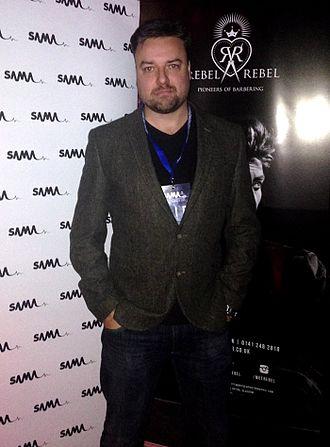 JD Allan - JD Allan at the Scottish Alternative Music Awards, 8 October 2015