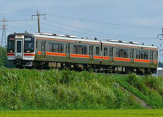railway line Mie prefecture, Japan