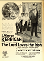 J Warren Kerrigan The Lord Loves the Irish 1 Film Daily 1919.png