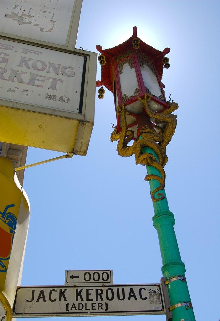 Jack Kerouac Alley street sign
