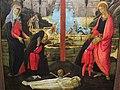 Jacopo del sellaio, altare votivo con la trinità, i dolenti e i committenti, 1480-85 ca. 03.JPG