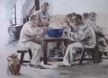Jacques Baseilhac La soupe à la chambrée 1899.png