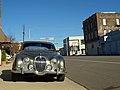 Jaguar Mk.II in Birmingham Automotive Historic District Dec 2012.jpg