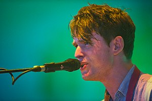James Blake (musician) - Blake performing at Roskilde Festival 2011