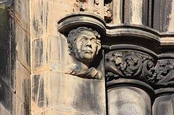 James Hogg as depicted on the Scott Monument.JPG
