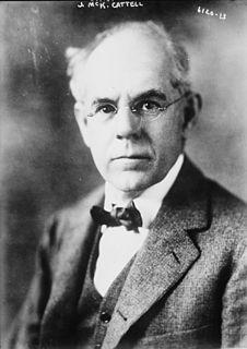James McKeen Cattell American psychologist