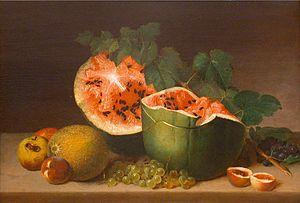 James Peale - Image: James Peale, Still Life, oil on panel, c. 1824, HAA